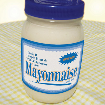 ... and his crew to the asylum. The new album, Mayonnaise. IN STORES NOW